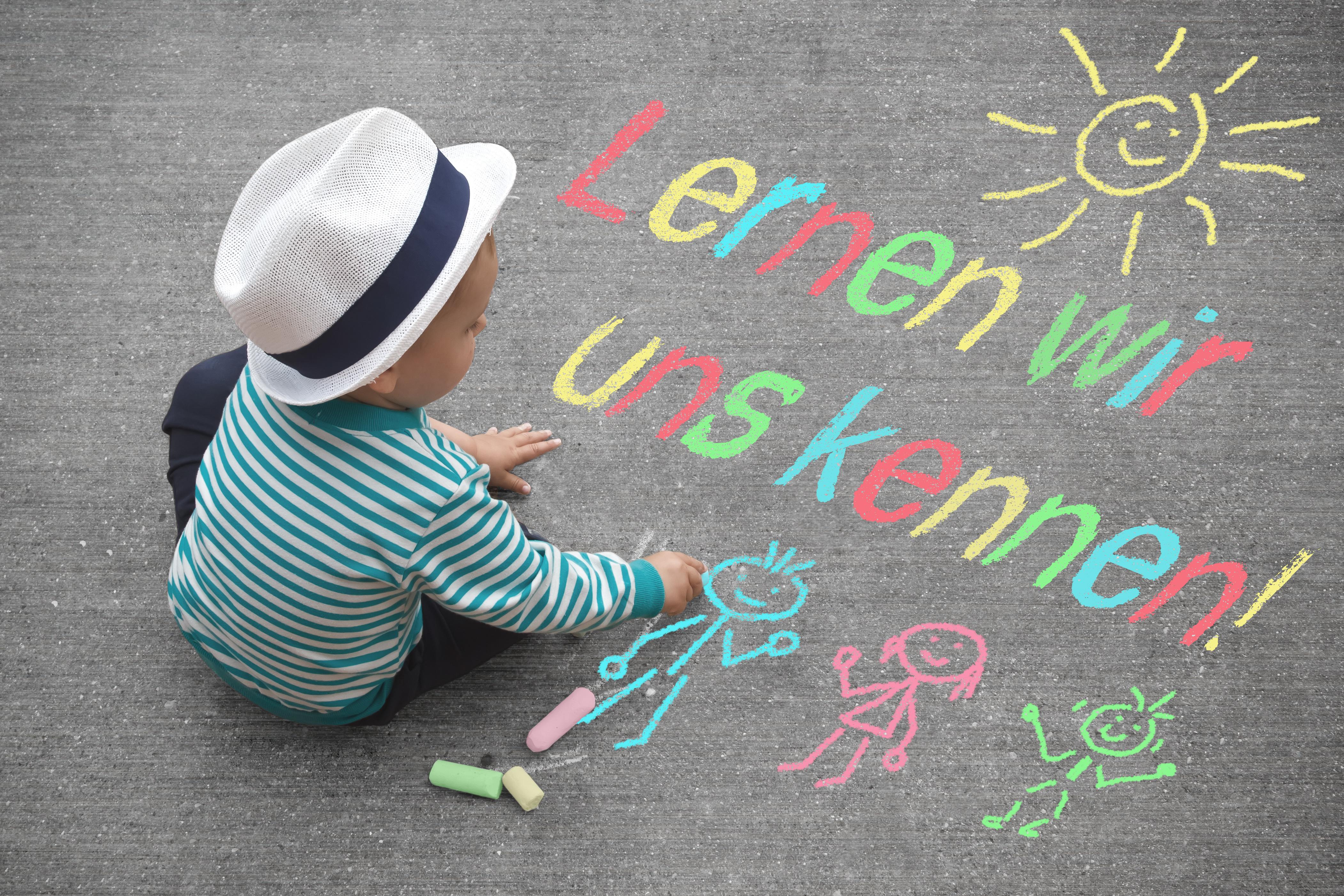 Kinderzeichnung – Lernen wir uns kennen!
